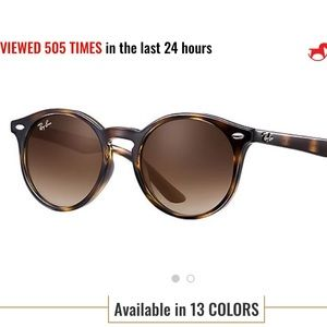 Ray bans (with distance prescription -1.25)